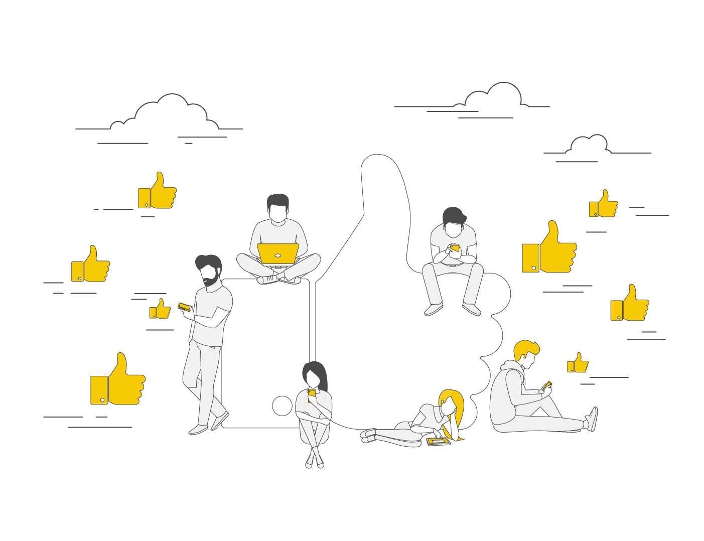 ניהול רשתות חברתיות קטגוריה